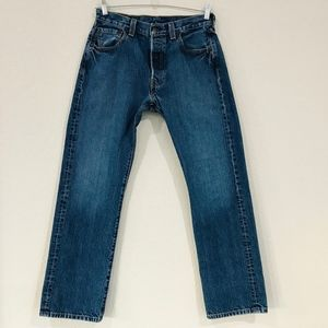 Levis 501s made in USA Button Fly High Waist